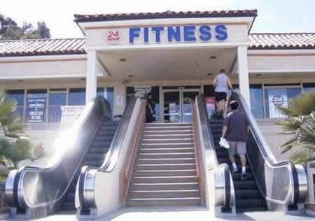 Vchod do fitness