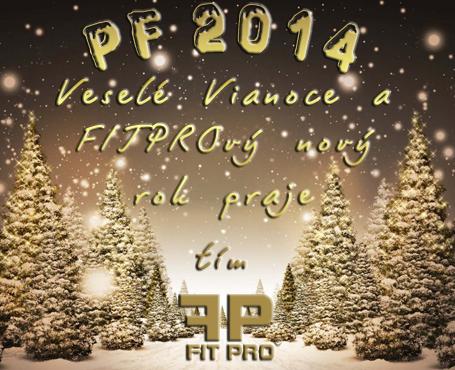Veselé Vianoce a FITPROvý nový rok 2014 vám praje tím FITPRO, s.r.o.! :)