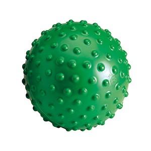 Akupresúrna lopta Aku Ball 20cm zelená - akupresúrna lopta Aku Ball je tvrdšia a je vhodná pre tých, ktorí uprednostňujú silnejšiu senzorickú odpoveď. Je ideálna na masáže a relaxačné cvičenia.