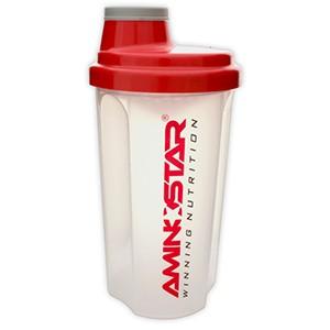 AMINOSTAR - Shaker 700ml - Profi šejker 700ml priesvitný  s mriežkou, v ktorom sa perfektne rozmieša každý proteínový či sacharidový nápoj.