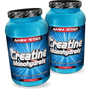 AMINOSTAR - CREATINE MONOHYDRATE 500g AKCIA 1 + 1