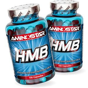 AMINOSTAR - HMB 100 kps AKCIA  1 + 1
