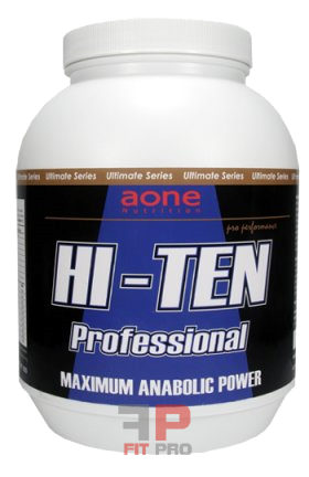 AONE NUTRITION - HI-TEN PROFESSIONAL PROTEIN 900g