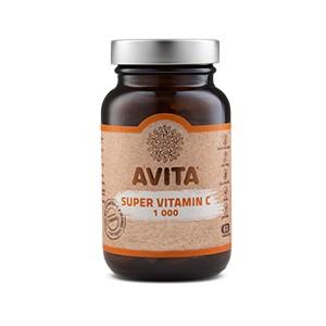Avita Super Vitamin C 1000 60tbl - Výživový doplnok - s obsahom 1000 mg vitamínu C v jednej tabletke s postupným uvoľňovaním