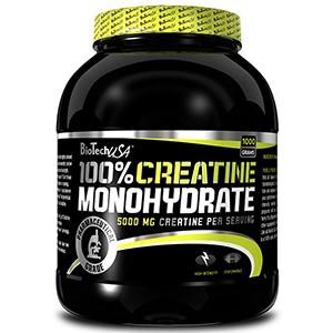 BioTech USA - 100% Creatine Monohydrate 1000g