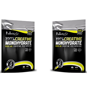BioTech USA - 100% Creatine Monohydrate 500g (sáčok)