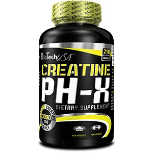 BioTech USA - Creatine pH-X  210kps
