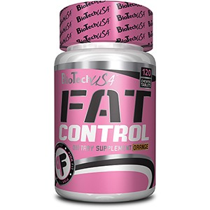 BioTech USA - Fat Control 120tbl