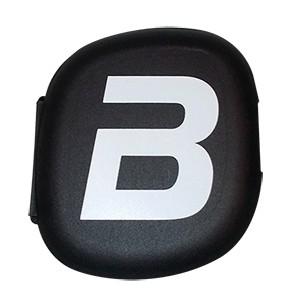 Krabička na dávkovanie tabliet BioTech USA - čierna krabička na dávkovanie tabliet (pill box) s piatimi priehradkami na tablety alebo kapsuly.