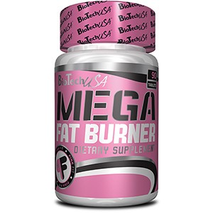 BioTech USA - Mega Fat Burner 90tbl