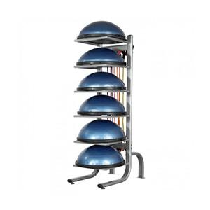 BOSU Stojan - skladový stojan (držiak, regál) na 6 x BOSU Balance Trainers.