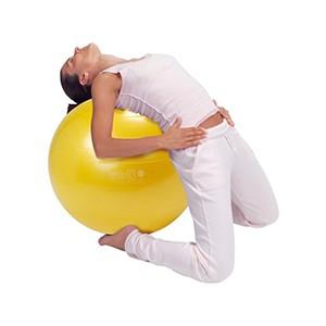 Fitlopta Gymnic Plus 65cm žltá - medicínsky testovaná fitlopta novej generácie na cvičenie, rehabilitáciu a dynamické sedenie.