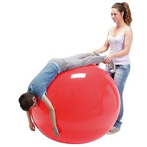 Fitlopta Physio Gymnic 85cm červená - Klasická fitlopta na cvičenie, rehabilitáciu a dynamické sedenie.