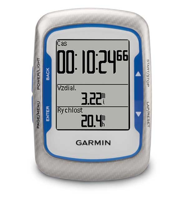 Garmin EDGE 500 HR + CAD