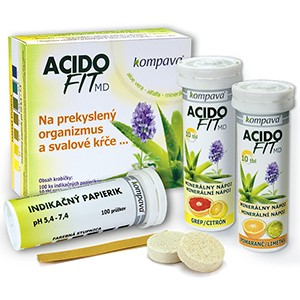 Kompava - Acidofit MD - MIX 2x10tbl