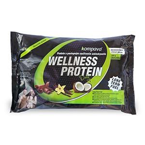 Proteínový koktejl KOMPAVA Wellness Daily Protein je biologicky čistý proteín s postupným uvoľňovaním aminokyselín. Kompava - Wellness Daily Protein 525g