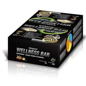 Kompava - Wellness bar 21x60g - proteínovo-tuková tyčinka