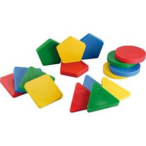 Ledraplastic - Multiform Set - geometrické tvary - sada 16ks