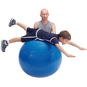 Fitlopta Physio Gymnic 95 cm modrá - Klasická fitlopta na cvičenie, rehabilitáciu a dynamické sedenie.