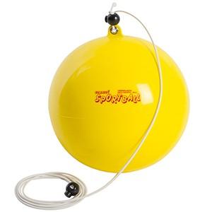 Ledraplastic - Sportball 20cm žltá