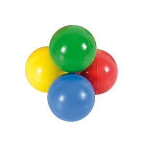 Loptička Freeball 4cm - malé loptičky na hranie, ktoré sa ľahko držia. Dostupné v 4 veľkostiach a 4 farbách. Rehabilitační odborníci odporúčajú cvičenia s malými loptičkami pre správny vývoj jemnej motoriky ruky.
