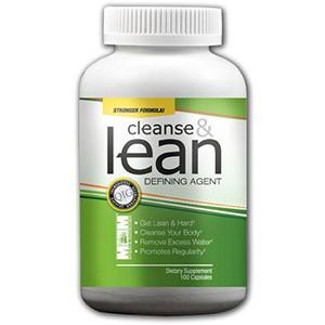 Max Muscle - Cleanse & Lean 100kps - diéta a chudnutie začína očistou a detoxikáciou