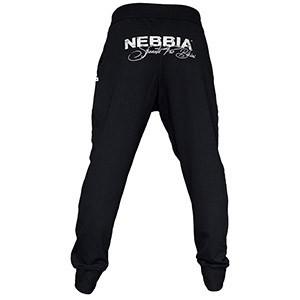 Nebbia - ELASTICKÉ TEPLÁKY PUDLO 674 dámske čierne M