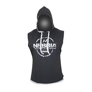 Nebbia - REG TOP - KAPUCKA 714 pánsky tmavosivý L