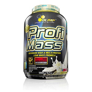 Olimp - Profi Mass 2800g - perfektný potréningový proteín so sacharidmi