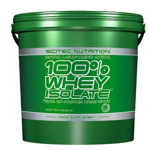 SCITEC NUTRITION - 100% Whey Isolate 4000g