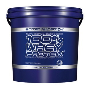 SCITEC NUTRITION - 100% Whey Protein 5000g
