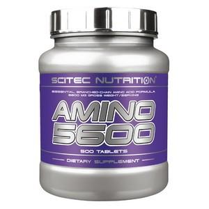 SCITEC NUTRITION - Amino 5600 500tbl