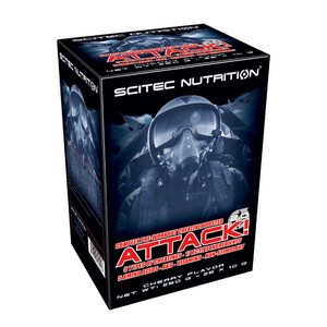 SCITEC NUTRITION - Attack! 2.0 25 x 10g