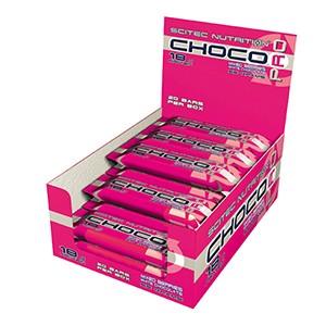 SCITEC NUTRITION - Choco Pro 20 x 55g - tyčinky s vysokým obsahom bielkovín