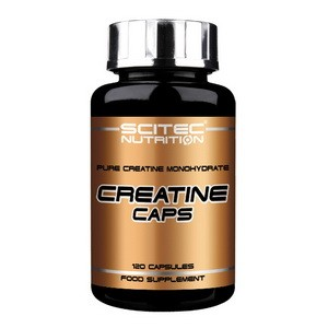 SCITEC NUTRITION - Creatine Caps 120kps