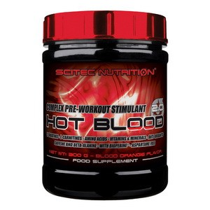 SCITEC NUTRITION - Hot Blood 2.0 300g