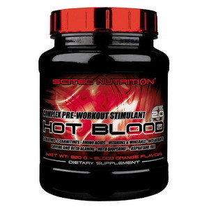 SCITEC NUTRITION - Hot Blood 2.0 820g