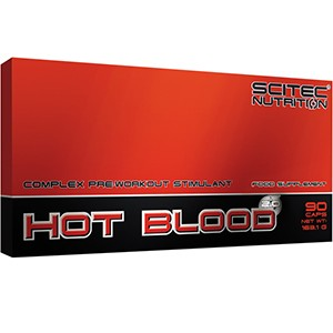 SCITEC NUTRITION - Hot Blood 2.0 90kps