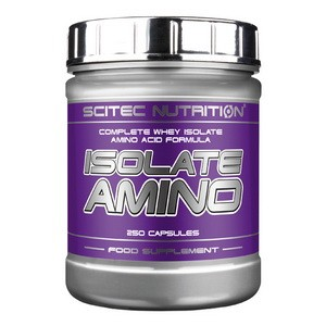 SCITEC NUTRITION - ISOLATE AMINO 250 kps