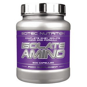 SCITEC NUTRITION - ISOLATE AMINO 500 kps