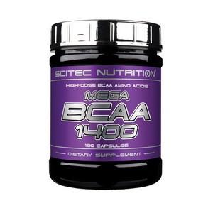 SCITEC NUTRITION - Mega BCAA 1400 180kps