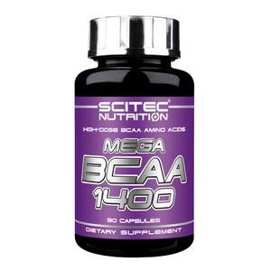 SCITEC NUTRITION - Mega BCAA 1400 90kps