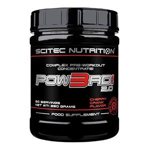 SCITEC NUTRITION - Pow3rd! 2.0 350g