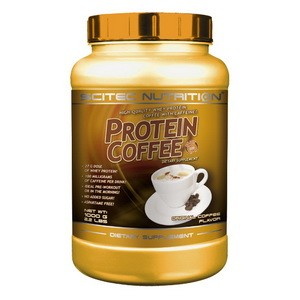 SCITEC NUTRITION - Protein coffee - so sladidlom, s kofeínom 1000g