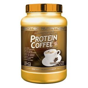SCITEC NUTRITION - Protein coffee - s cukrom, s kofeínom 1000g