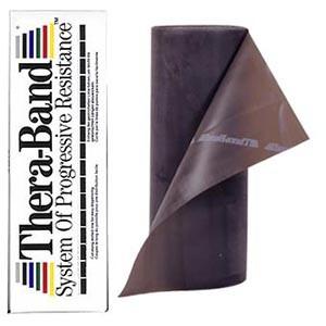 Thera-Band® - Stupeň 6 - ČIERNY (Special Heavy) - 5,5m