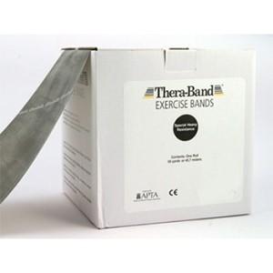 Thera-Band® - Stupeň 6 - ČIERNY (Special Heavy) - Thera-Band® - Stupeň 7 - STRIEBORNÝ (Super Heavy) - 45,5m
