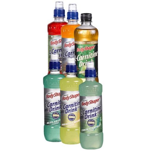 WEIDER'S BODY SHAPER - L-CARNITINE FITNESS DRINK, 500ml