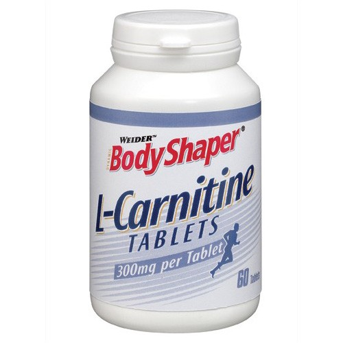 WEIDER'S BODY SHAPER - L-Carnitine TABLETS