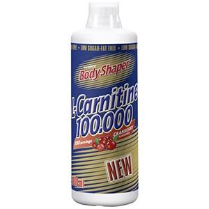 Weider Body Shaper L-Carnitine 100.000 1000ml - najbezpečnejší spaľovač tukov posilňujúci zdravie